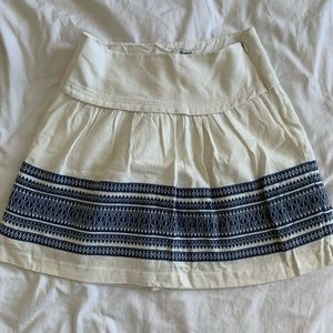 Madewell Summer Skirt / Stitched detail